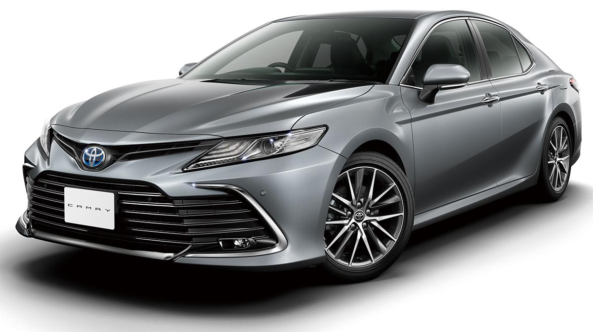 Camry 2021 bản tiêu chuẩn. Ảnh: Toyota