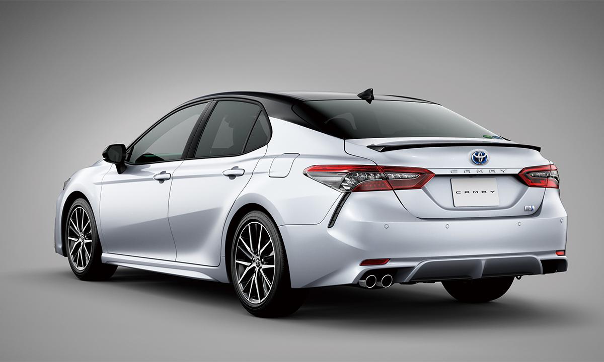 Đèn hậu LED mới. Ảnh: Toyota