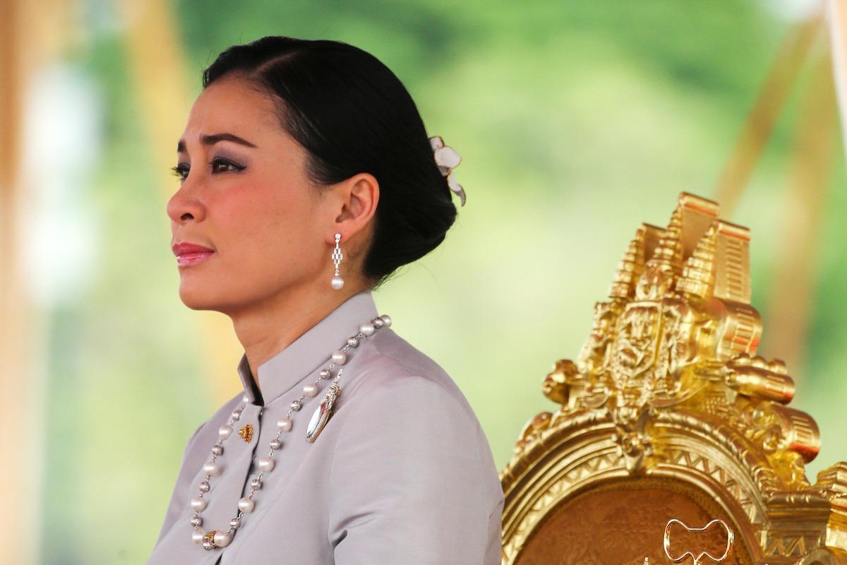 Hoàng hậu Suthida tại một buổi lễ tại Bangkok tháng 5/2019. Ảnh: Reuters.