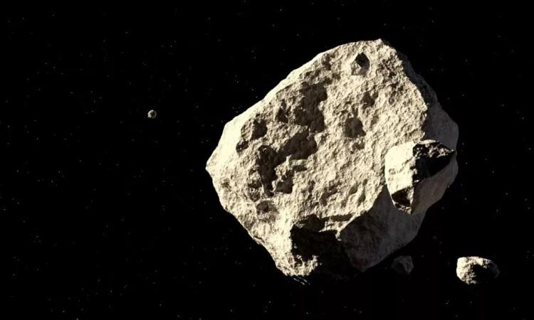 Mô phỏng tiểu hành tinh có kích thước lớn. Ảnh: iStock.