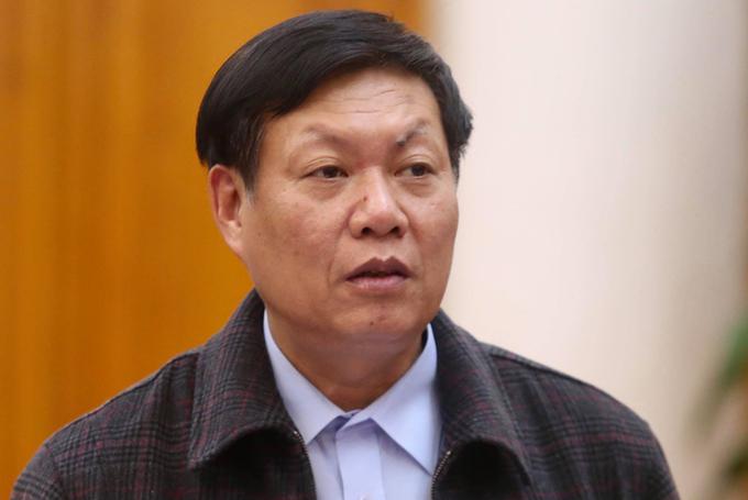 Thứ trưởng Y tế Đỗ Xuân Tuyên. Ảnh: Gia Chính