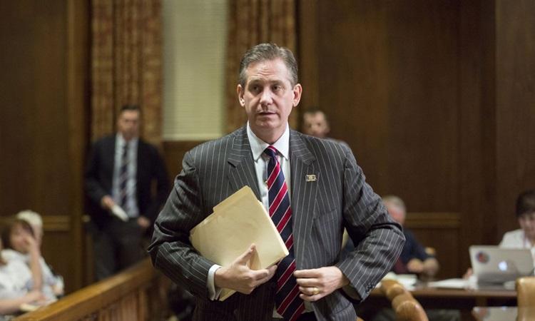 Luật sư Bruce L Castor Jr, thành viên nhóm bào chữa của cựu tổng thống Donald Trump trong phiên tòa luận tội tại Thượng viện. Ảnh: Philadelphia Inquirer.