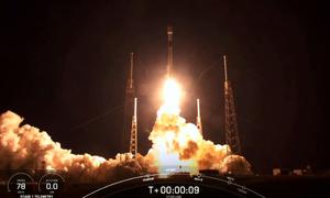 SpaceX phóng thêm 60 vệ tinh Starlink