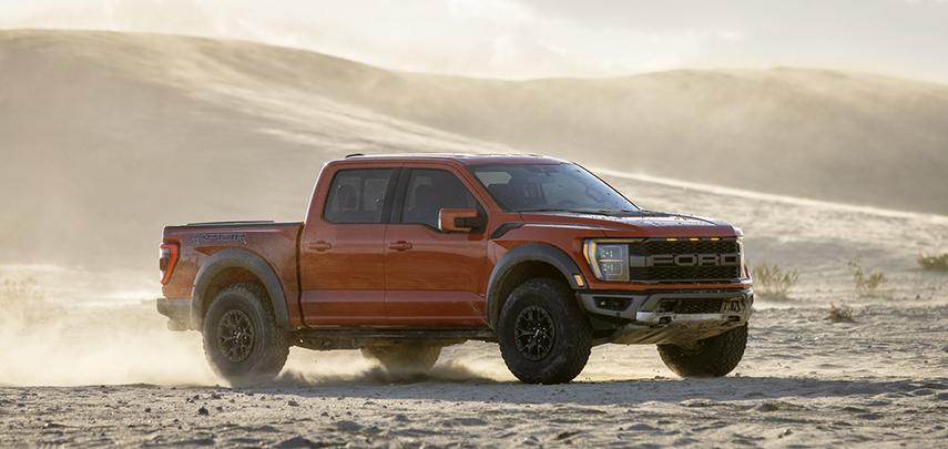 Mẫu Ford Raptor 2021 mới.