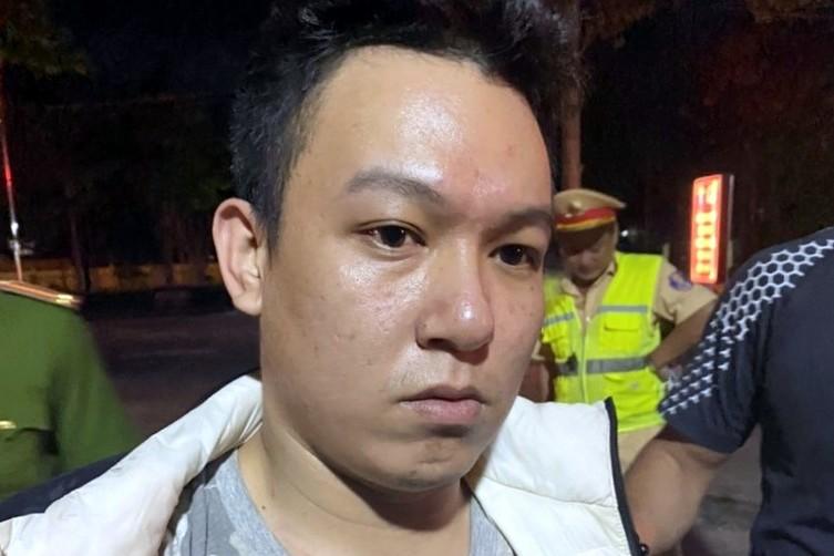 Phạm nhân Nguyễn Trọng Toại bị bắt tại Hàm Tân (Bình Thuận), tới 4/2. Ảnh: Đức Huynh.