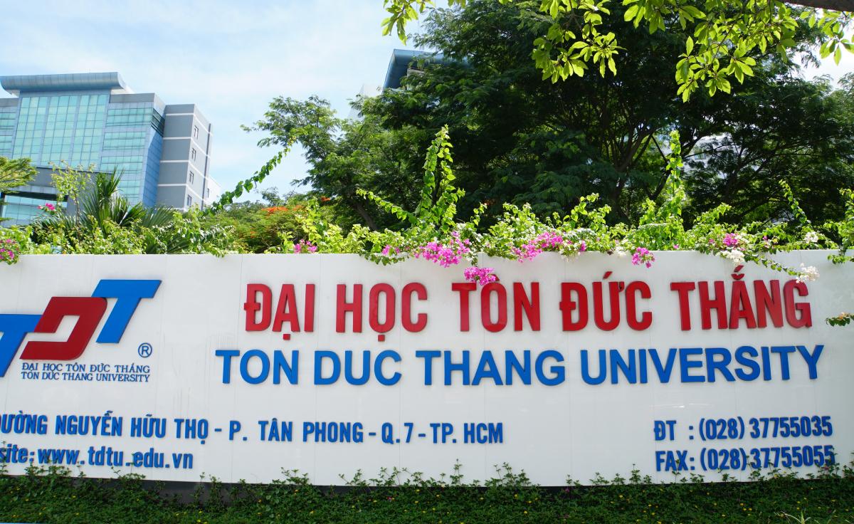 Đại học Tôn Đức Thắng tại quận 7, TP HCM. Ảnh: Mạnh Tùng.