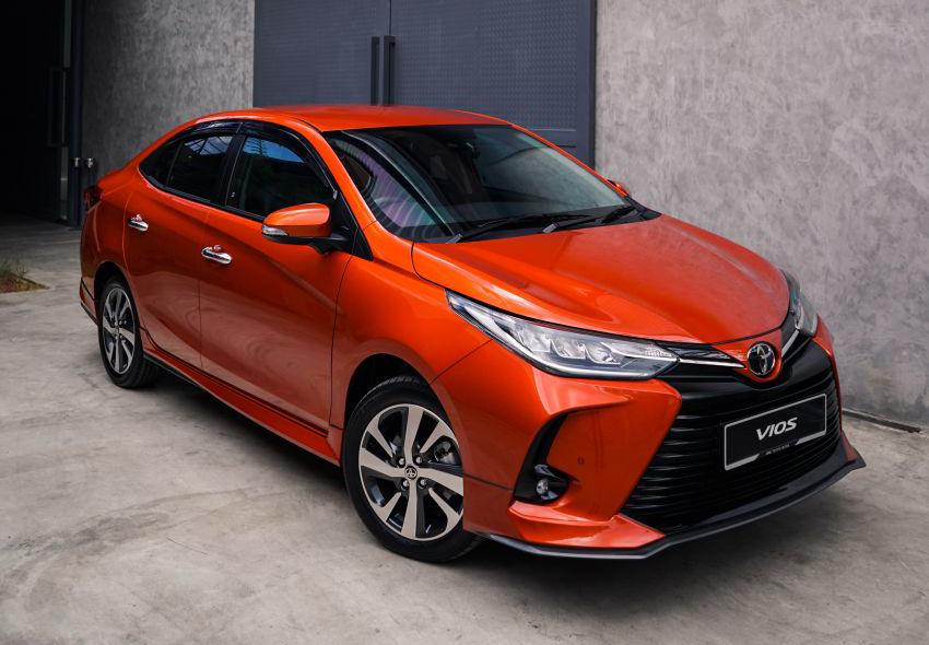 Phom dáng mới của Vios 2021 tại thị trường Malaysia. Ảnh: Toyota