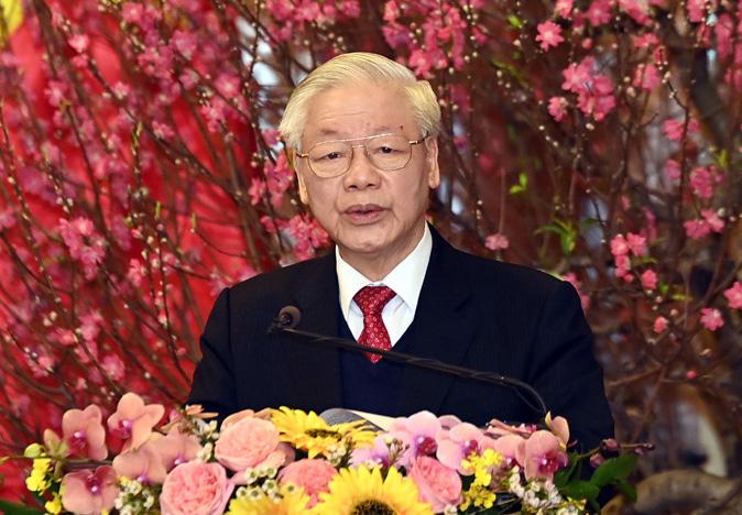 Tổng bí thư, Chủ tịch nước Nguyễn Phú Trọng. Ảnh: Nhật Bắc