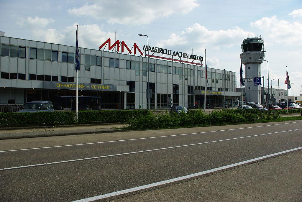 Sân bay Maastricht Aachen, thành phố Limburg, Hà Lan. Ảnh: Wikipedia.