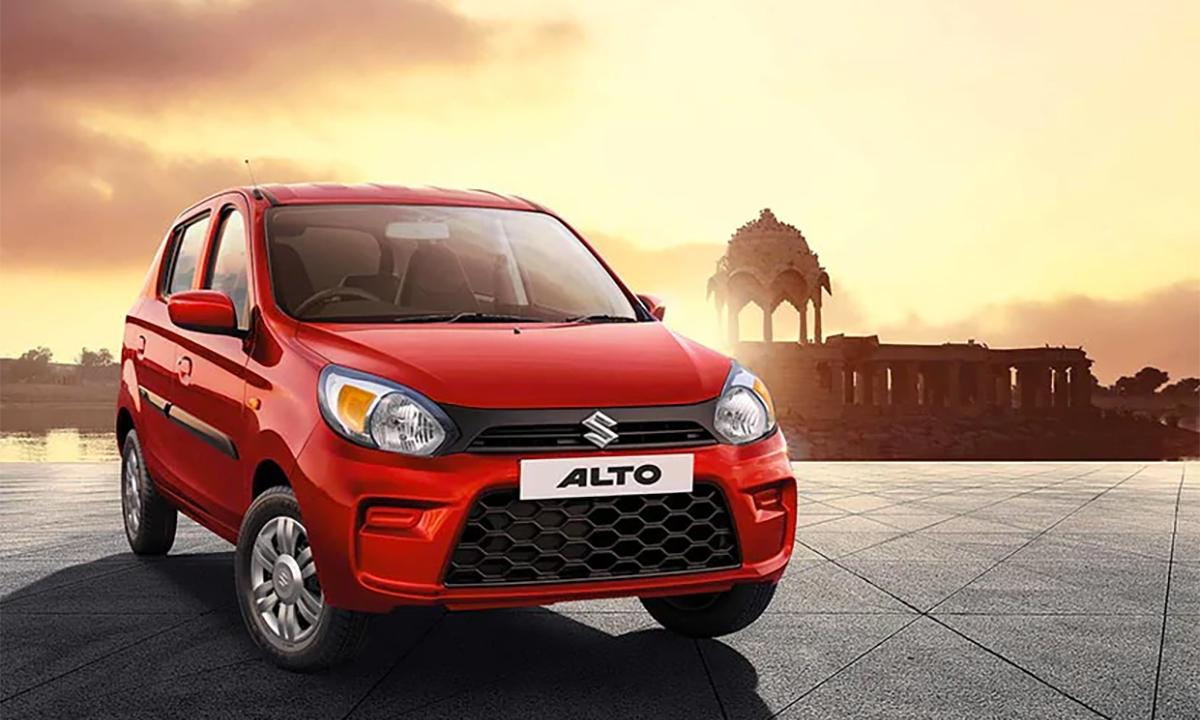 Maruti Suzuki Alto bán nhiều nhất tháng 1/2021 tại Ấn Độ. Ảnh: MarutiSuzuki