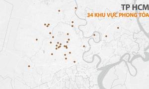 Những điểm bị phong tỏa ở Sài Gòn trong ngày Tết