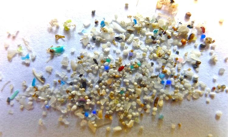 Những mảnh nhựa trong quá trình tạp graphene. Ảnh: Massive Science.