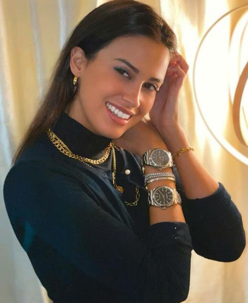 Eleonora Incardona, người ảnh hưởng trên Instagram, thường đăng ảnh đeo đồ hiệu. Ảnh: Instagram/eleonoraincardona.
