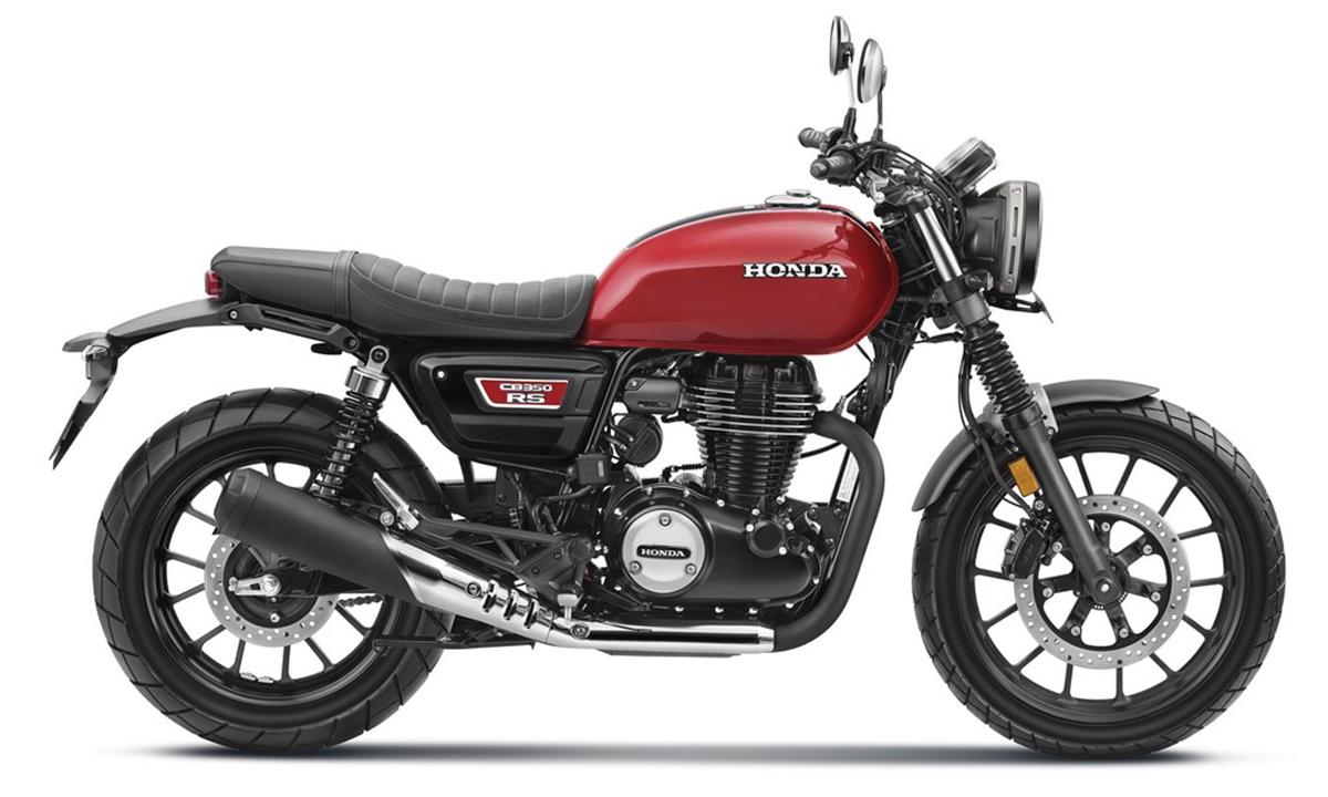CB350RS phong cách scrambler mới. Ảnh: Honda