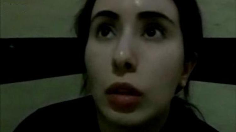 Công chúa Latifa bint Mohammed Al Maktoum trong video cầu cứu. Ảnh: BBC.