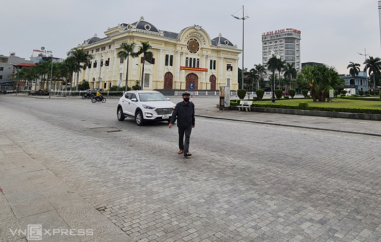 Quảng trường Lam Sơn ở TP Thanh Hóa. Ảnh: Lam Sơn