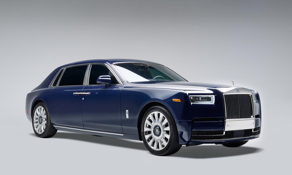 Koa Phantom - hàng thửa của tỷ phú Mỹ. Ảnh: Rolls-Royce