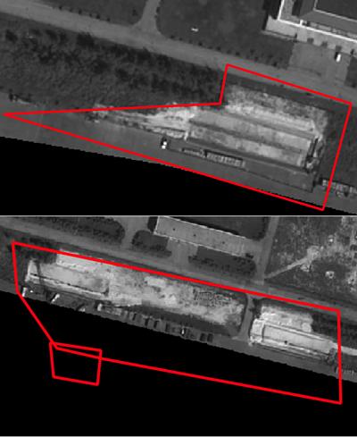 Các cấu trúc tại Khu 5 và Khu 6 trên đá Vành Khăn ngày 4/2. Ảnh: Simularity.