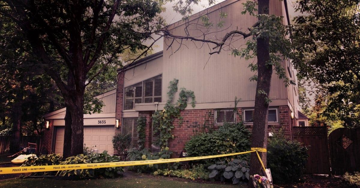 Căn nhà gia đình Harrison gắn bó suốt hơn 30 năm. Ảnh: Toronto Life.