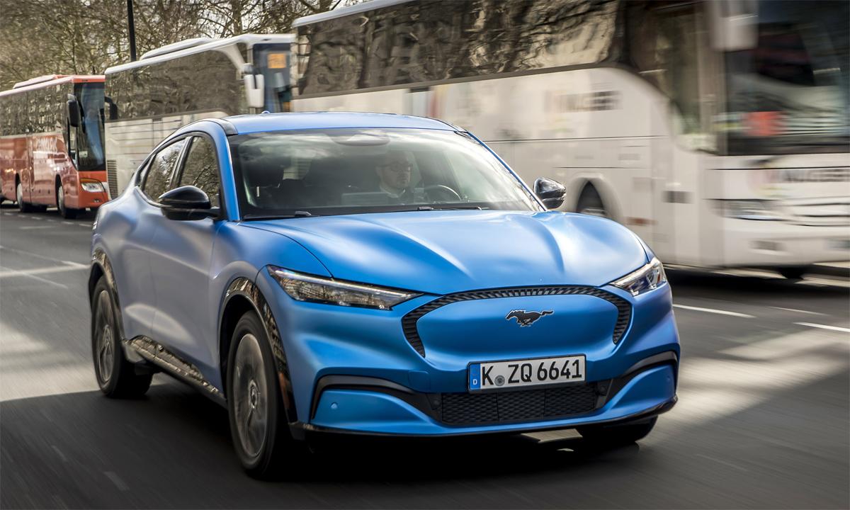 Mustang Mach-E - crossover điện đầu tiên của Ford. Ảnh: Ford