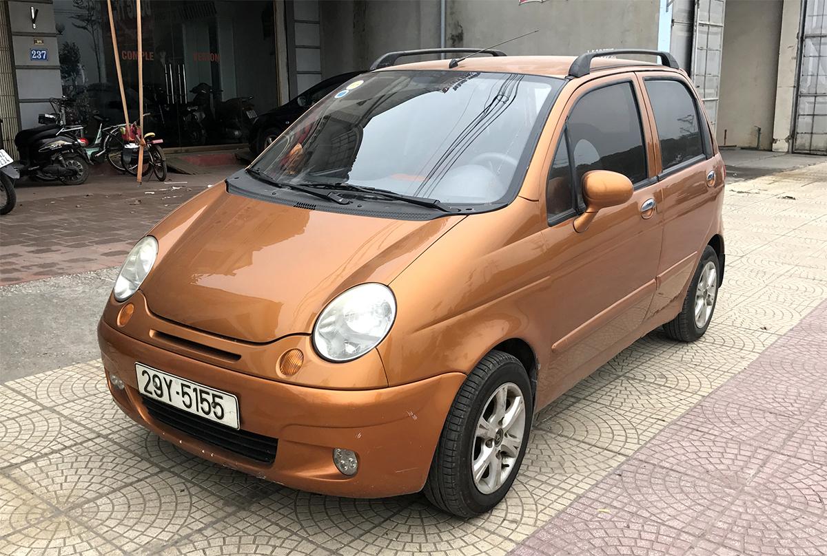 Daewoo Matiz 2005. Ảnh: Đức Yên