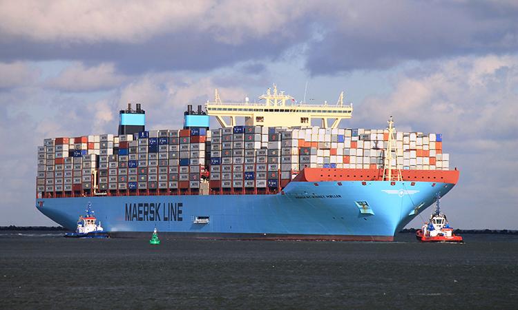 Maersk có trụ sở chính ở Copenhagen và các trụ sở chi nhánh ở130 nước. Ảnh: SCMMsublogs.