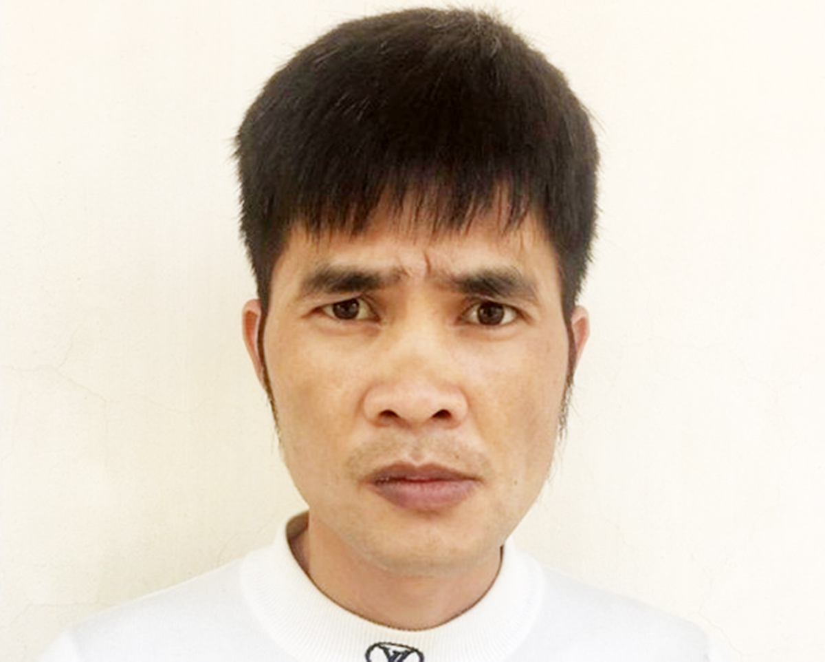 Vũ Văn Tập bị khởi tố, bắt giam với cáo buộc Chống người thi hành công vụ. Ảnh: CAHD