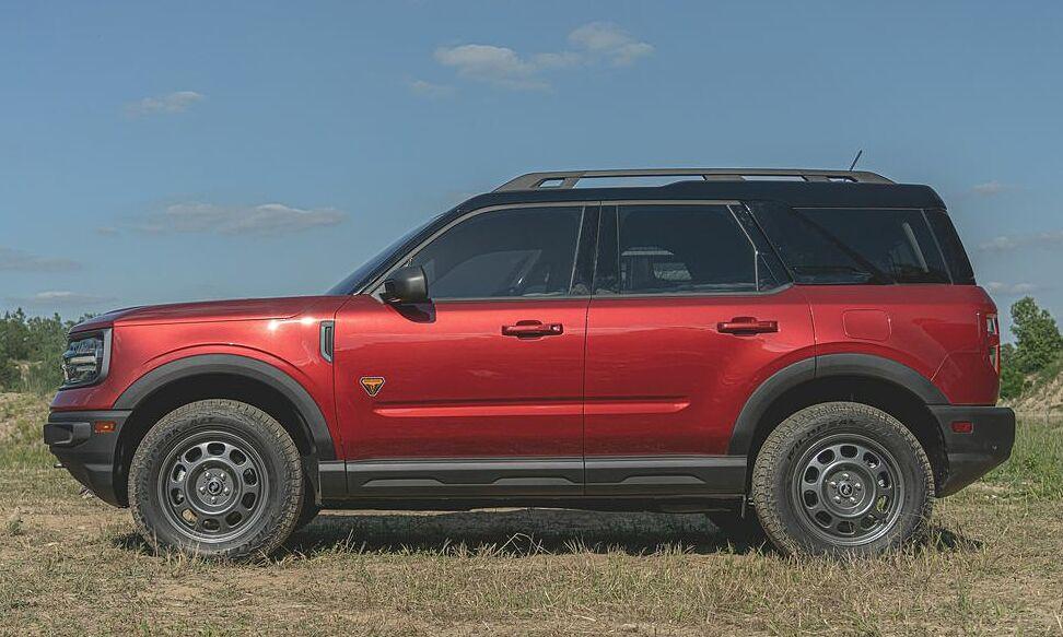 Mẫu Bronco Sport 2020. Ảnh: Ford
