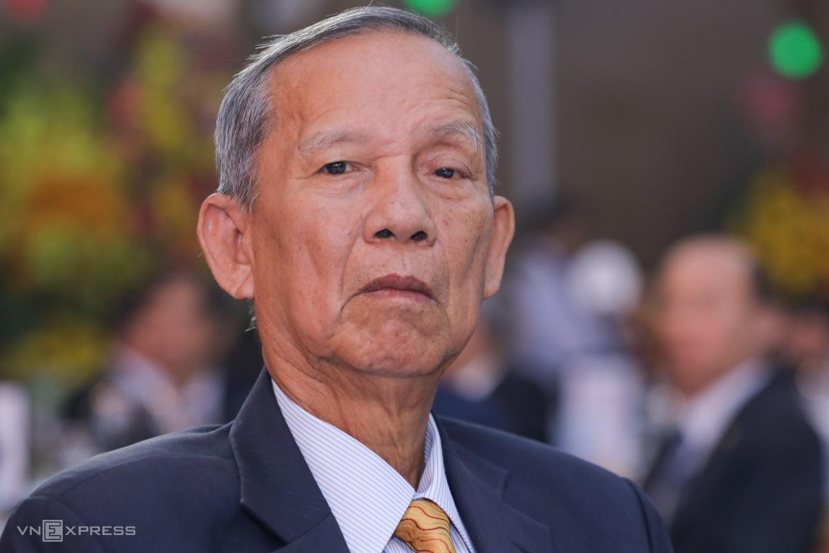 Nguyên Phó thủ tướng Trương Vĩnh Trọng tại một sự kiện ở TP HCM tháng 1/2020. Ảnh: Quỳnh Trần