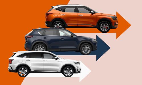 5 mẫu SUV và crossover bán chạy nhất tháng Một