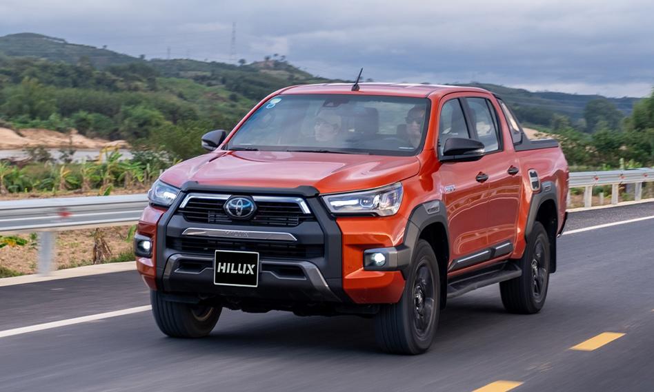 Bán tải Hilux tại Việt Nam. Ảnh: Toyota