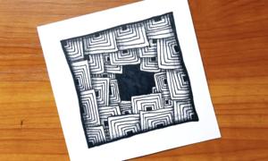 Vẽ tranh 3D bằng cách lặp lại nét
