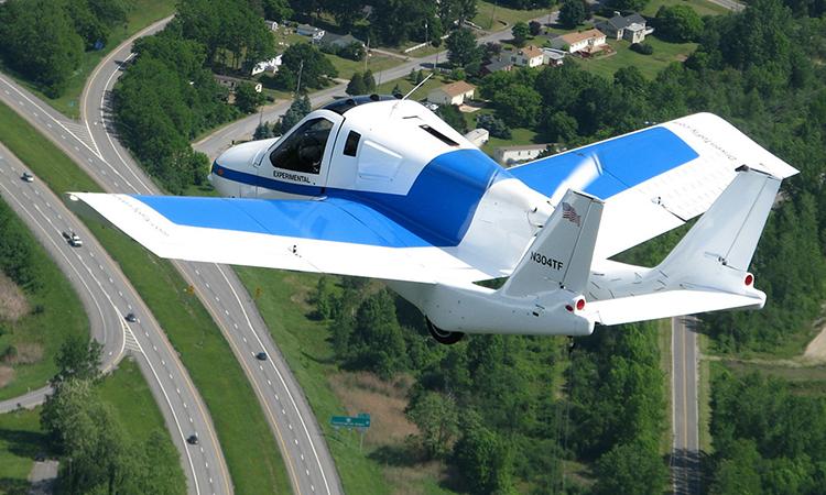 Xe bay của Terrafugia Transition đã được cấp phép hoạt động. Ảnh: Terrafugia.