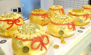 Bánh hũ vàng đắt hàng ngày vía Thần tài
