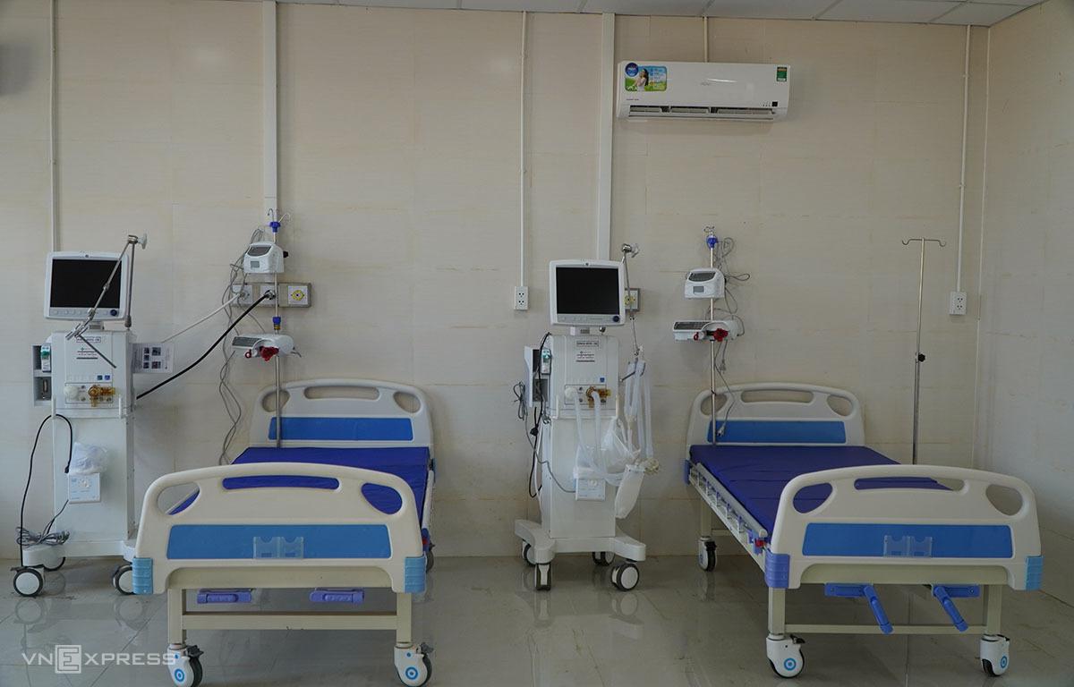 Ngày mai hai ca được điều trị ở Bệnh viện dã chiến Gia Lai xuất viện. Ảnh: Trần Hóa.