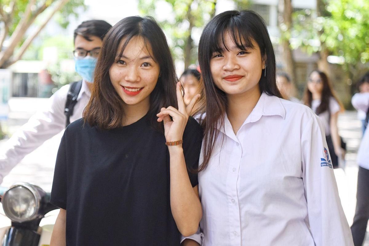 Thí sinh tham dự kỳ thi THPT quốc gia 2019. Ảnh:Thành Nguyễn