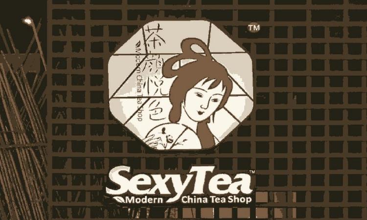 Logo của chuỗi cửa hàng đồ uống nổi tiếng Khiêu gợi Trà ở Trung Quốc. Ảnh: BBC.