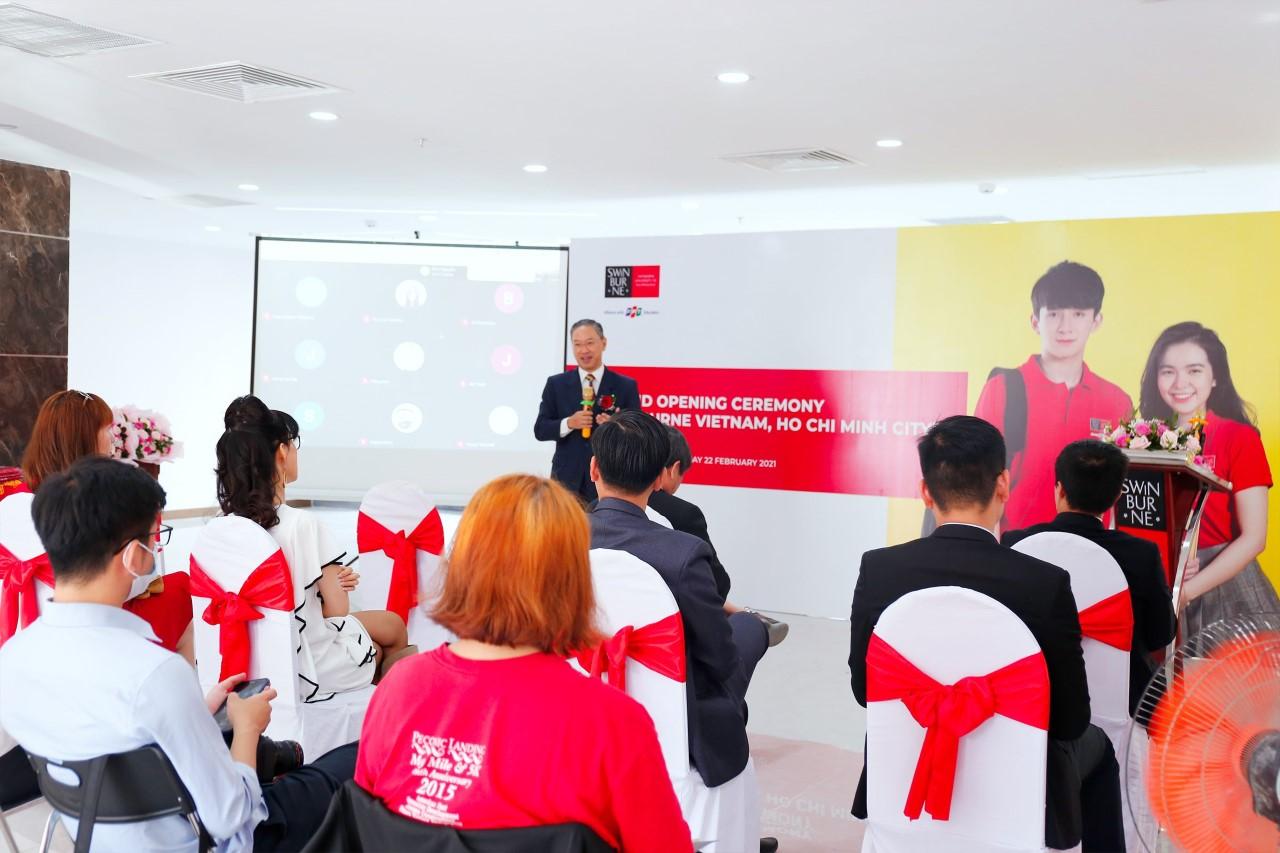 Swinburne Việt Nam khai trương khu học xá mới tại A35 Bạch Đằng, quận Tân Bình vào ngày 22/2. Ảnh: Swinburne Việt Nam.