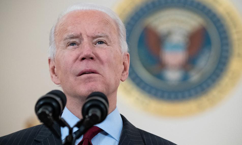 Tổng thống Mỹ Joe Biden phát biểu tại Nhà Trắng hôm 22/2. Ảnh: AFP.