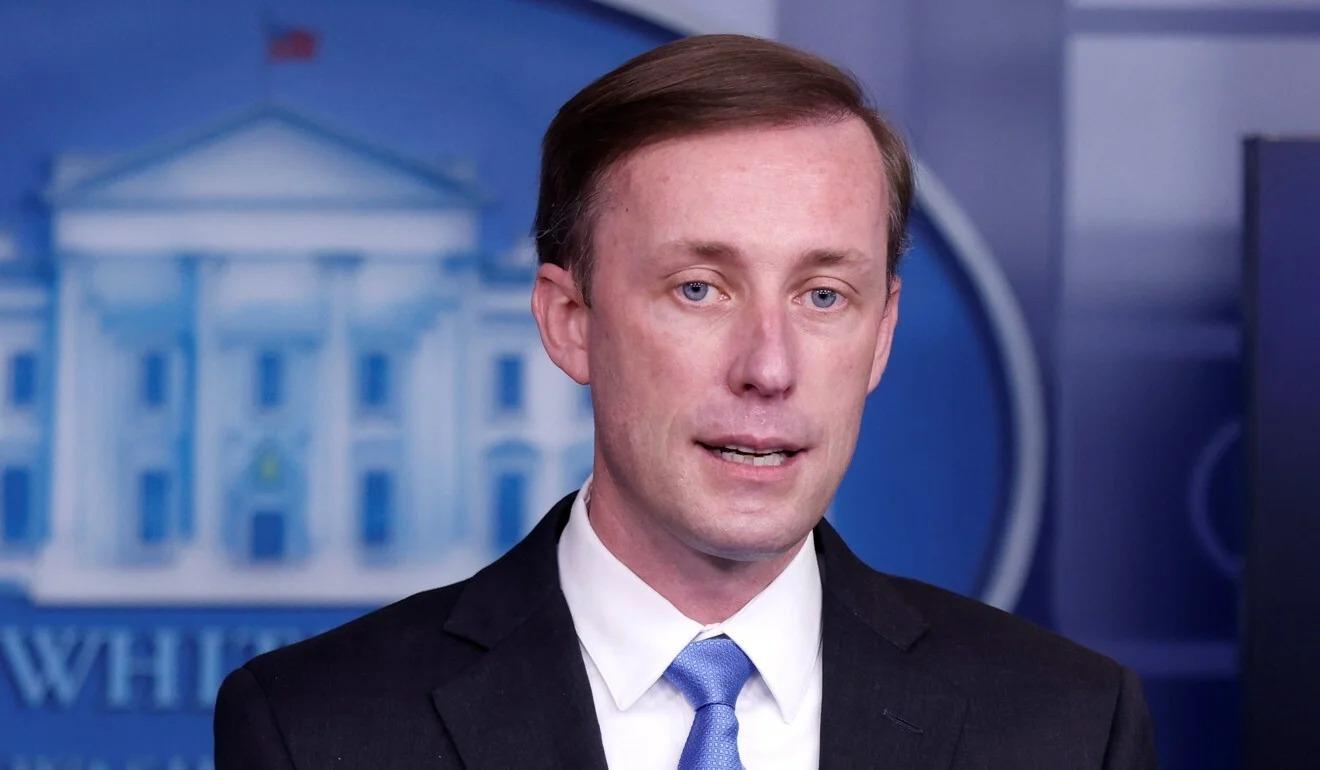 Cố vấn An ninh Quốc gia Jake Sullivan tại Nhà Trắng ngày 4/2. Ảnh: Reuters.
