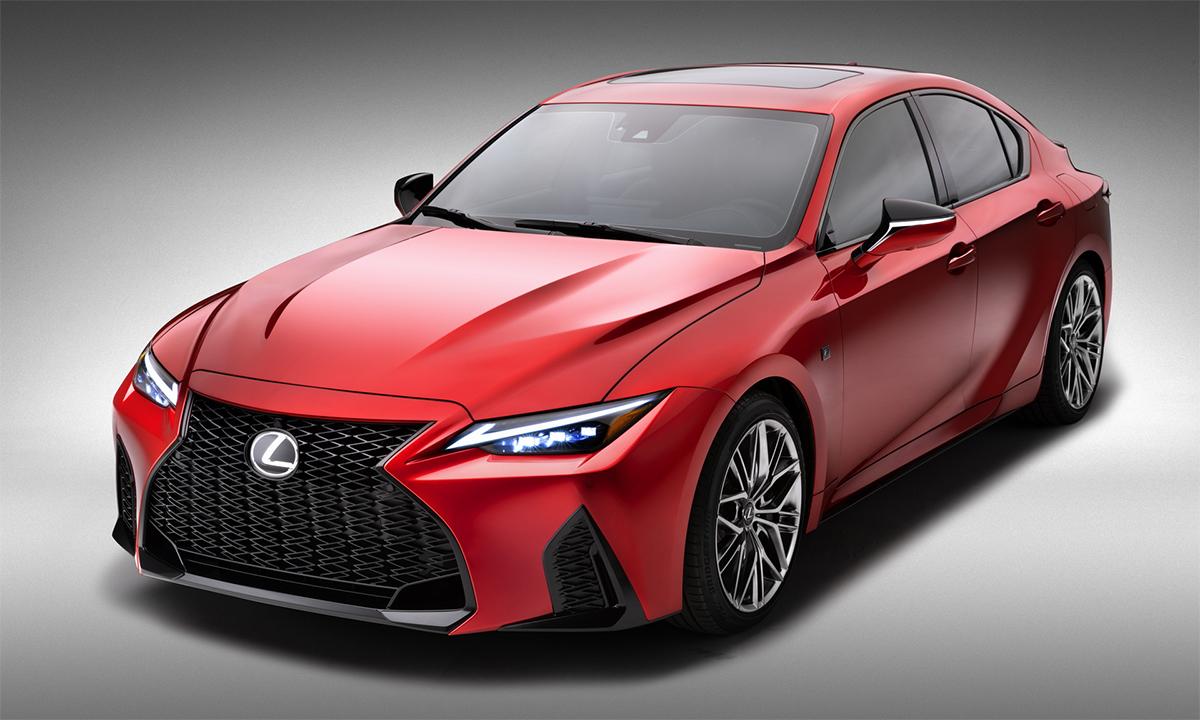 IS 500 F Sport Performance mới cho thị trường Mỹ. Ảnh: Lexus