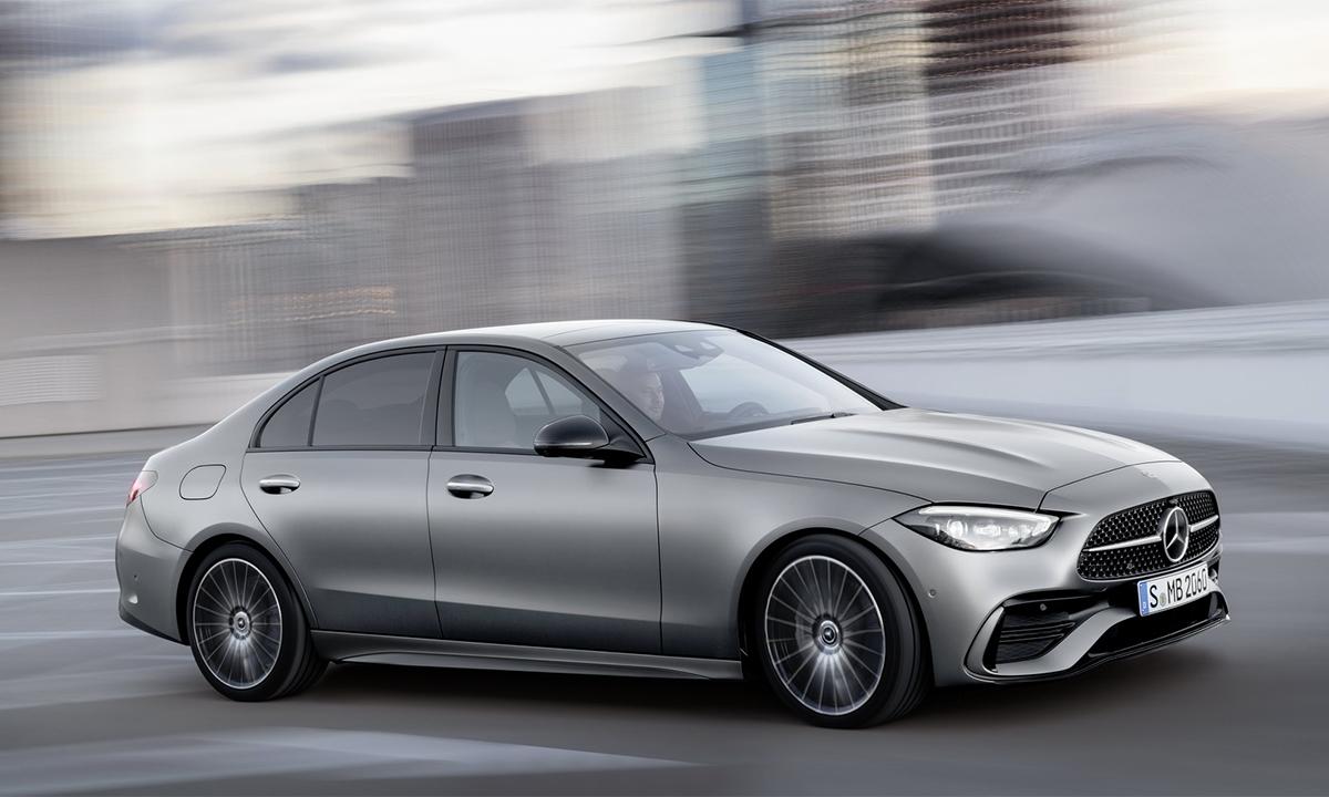 C-class phiên bản mới sang trọng hơn. Ảnh: Mercedes