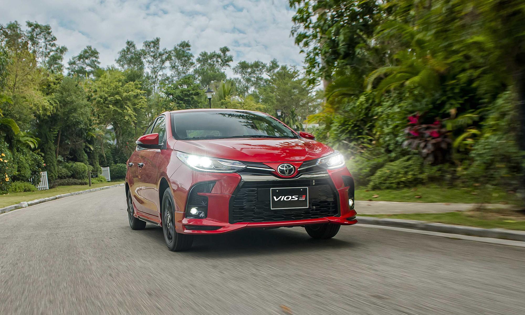 Thiết kế bản thể thao Toyota Vios GR-S.