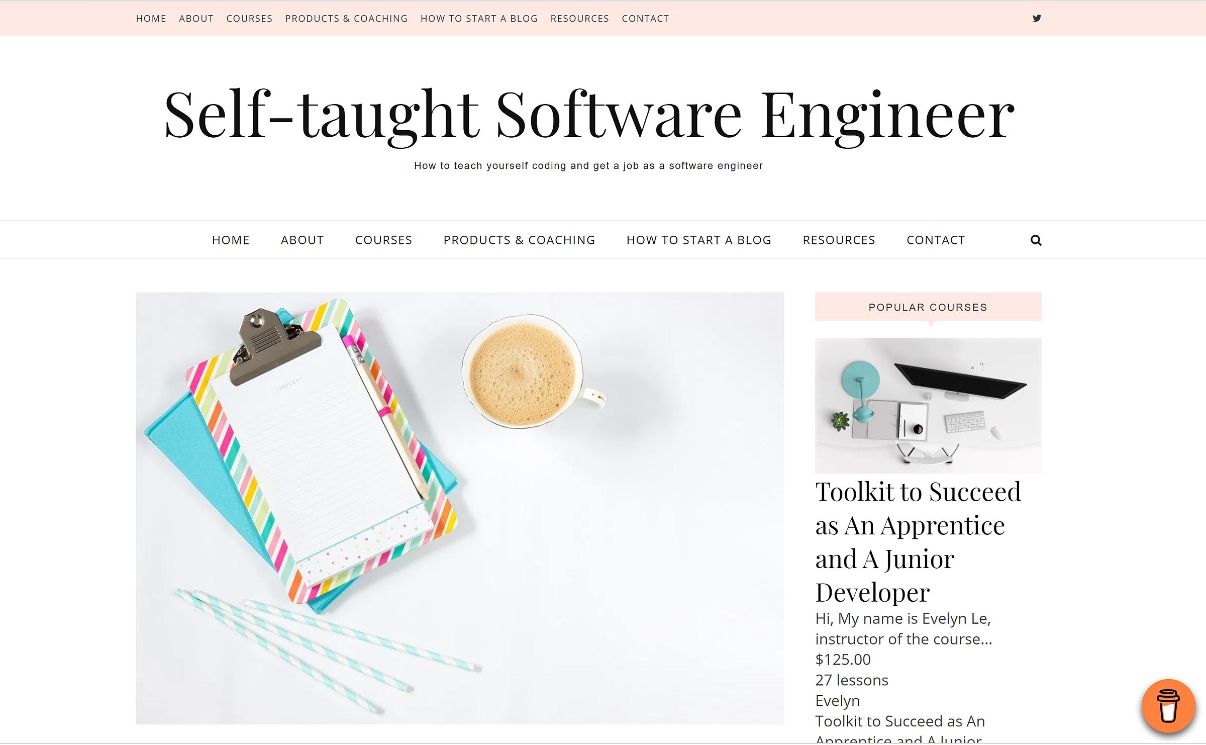 Sau khi chuyển nghề thành công, Evelyn Le chia sẻ những bí quyết, kinh nghiệm học tập cho người tự học lập trình qua website riêng.