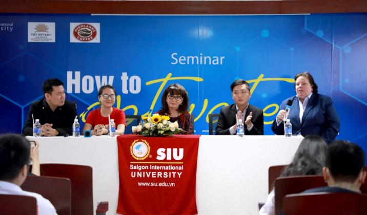 Doanh nghiệp tham dự hội thảo tại SIU.