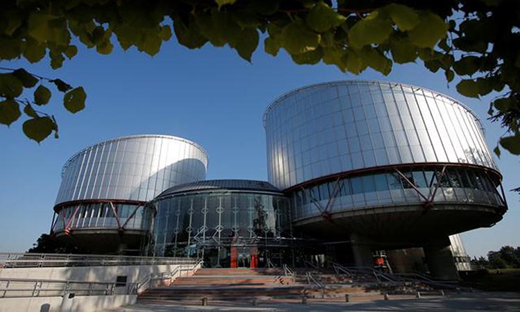 Tòa án Nhân quyền châu Âu ở Strasbourg, Pháp tháng 9/2019. Ảnh: Reuters.