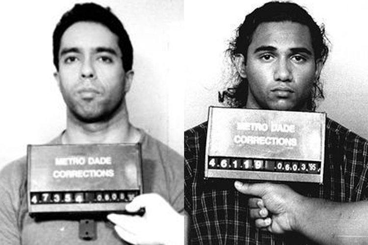 Danny Lugo (trái) và Adrian Doorbal. Ảnh: Metro Dade Correction.