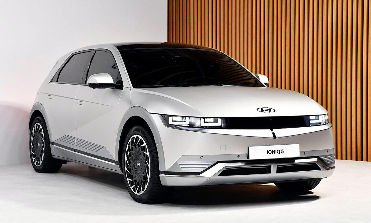 Ioniq 5 2022, mẫu xe điện thuần túy của hãng xe Hàn Quốc. Ảnh: Hyundai