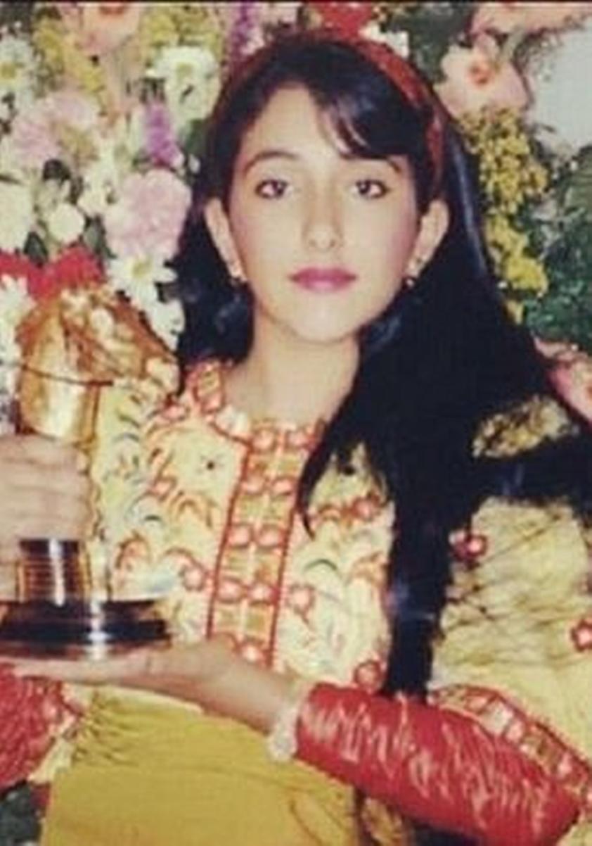 Công chúa Shamsa trong bức ảnh không rõ ngày tháng. Ảnh: BBC