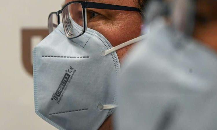Khẩu trang diệt virus mới của BioSerenity đã được chứng nhận CE. Ảnh: Denis Charlet.